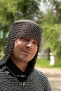 Free Man In Chain Mail Stock Images - 5511974
