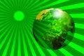 Free WORLD GLOBE AND SUN 2 Stock Photography - 5512052