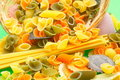 Free Colorful Uncooked Pasta Stock Photo - 5512090