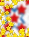 Free Digital Yellow Stars Stock Photo - 5515080