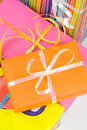 Free Colored Gift Boxes Stock Image - 5515361