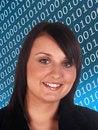 Free Internet Woman Stock Photography - 5518992