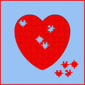 Free Heart Puzzle Royalty Free Stock Photo - 5519325