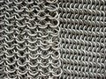 Free Two Different Patterns Of Antique Chain Mail Stock Images - 5519464