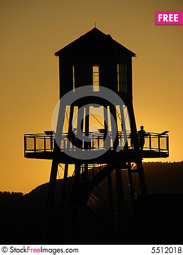 Free Tower At Sunset Royalty Free Stock Photos - 5512018