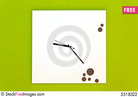 Free Clock Simple Stock Photography - 5518322