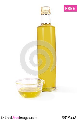 Free Olive Oil Royalty Free Stock Photos - 5519448
