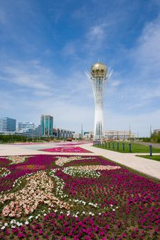 Free Bayterek. Astana. Royalty Free Stock Photos - 5510058