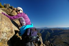 Free Climbing The Cradle Stock Images - 5510164