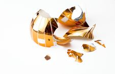 Free Broken Glass Christmas Ball Royalty Free Stock Photography - 5511127