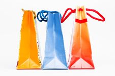 Free Colorful Paper Bags Stock Photo - 5511200