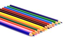 Free Lot Of Color Pencils Royalty Free Stock Photos - 5511608