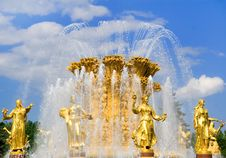 Free Art Fountain Royalty Free Stock Photography - 5511697