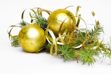 Free Christmas Decoration/ Frame Stock Photos - 5511783