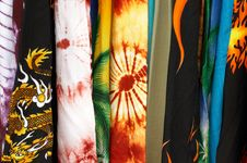 Free Hype Rolls Of Textiles Royalty Free Stock Photography - 5512167