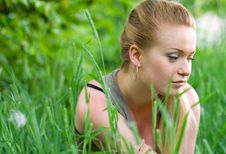 Free Woman In The Park Stock Photo - 5512240