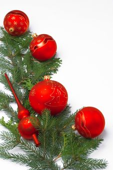 Free Christmas Decoration/ Frame Royalty Free Stock Image - 5512286
