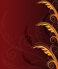 Free Floral  Artistic Design Background Royalty Free Stock Image - 5512316