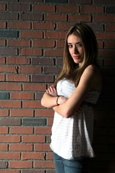 Free Natural Light Portrait Of A Teenage Girl Royalty Free Stock Photos - 5512758