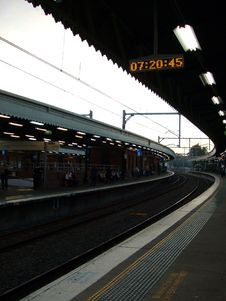 Free Train Station Stock Images - 5513264