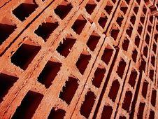 Free Brick Holes 2 Royalty Free Stock Photo - 5513725