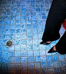 Free Blue Tiles Royalty Free Stock Photos - 5513968