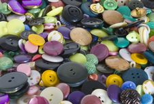 Heap Of Buttons Stock Images