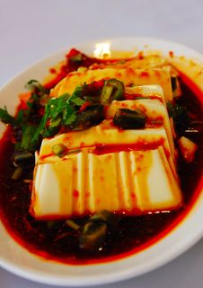Free Spicy Tofu Stock Photo - 5514350