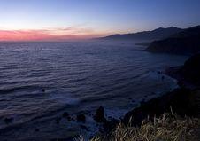 Free Big Sur Sunset Royalty Free Stock Image - 5514966