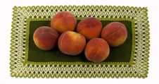 Free Ripe Peaches Stock Photography - 5515152