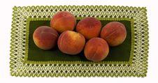 Free Ripe Peaches Stock Photography - 5515152