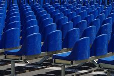 Free Rows Of Plastic Chairs Stock Photos - 5515353