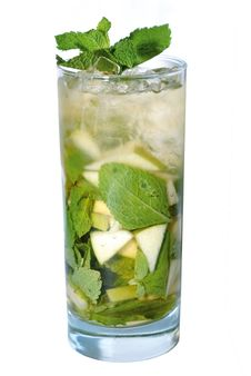 Free Cocktail With Mint Stock Image - 5515541