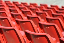 Free Red Chairs Royalty Free Stock Photos - 5515598