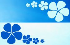 Free Background Flower Blue Royalty Free Stock Photo - 5515725