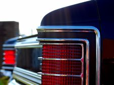 Free Chevelle Taillight Royalty Free Stock Photos - 5515908