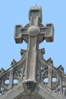 Free Old Church Cross Stock Photo - 5516670