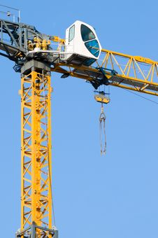 Free Construction Crane Stock Photo - 5516990