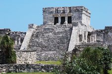 Free Tulum Mayan Site Stock Photo - 5517010