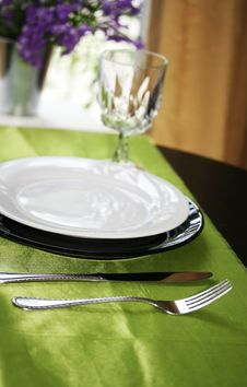 Free Dinning Table Stock Photo - 5517070