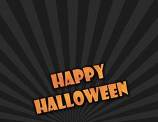 Free Happy Halloween Sign Stock Photography - 5517142