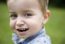 Free Little Boy In The Park Stock Photos - 5517393