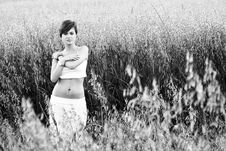 Free Woman In Field Stock Photo - 5517550
