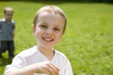 Free Laughing Boy Stock Photo - 5518060