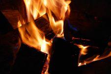 Free Burning Wood Stock Photos - 5518113
