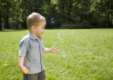 Free Soap Bubbles Stock Image - 5518121