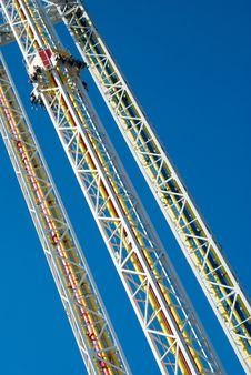 Free Sky Drop Ride Stock Photos - 5518523
