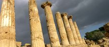 Free Temple Of Hercules Royalty Free Stock Image - 5518576