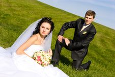 Free Rest On The Day Of Wedding Stock Photography - 5518662