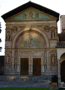 Free Church, Umbria Royalty Free Stock Image - 5519316